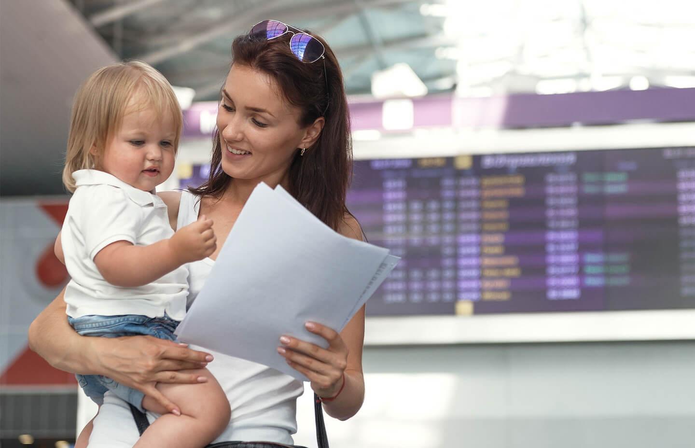 Путешествие с одним родителем
