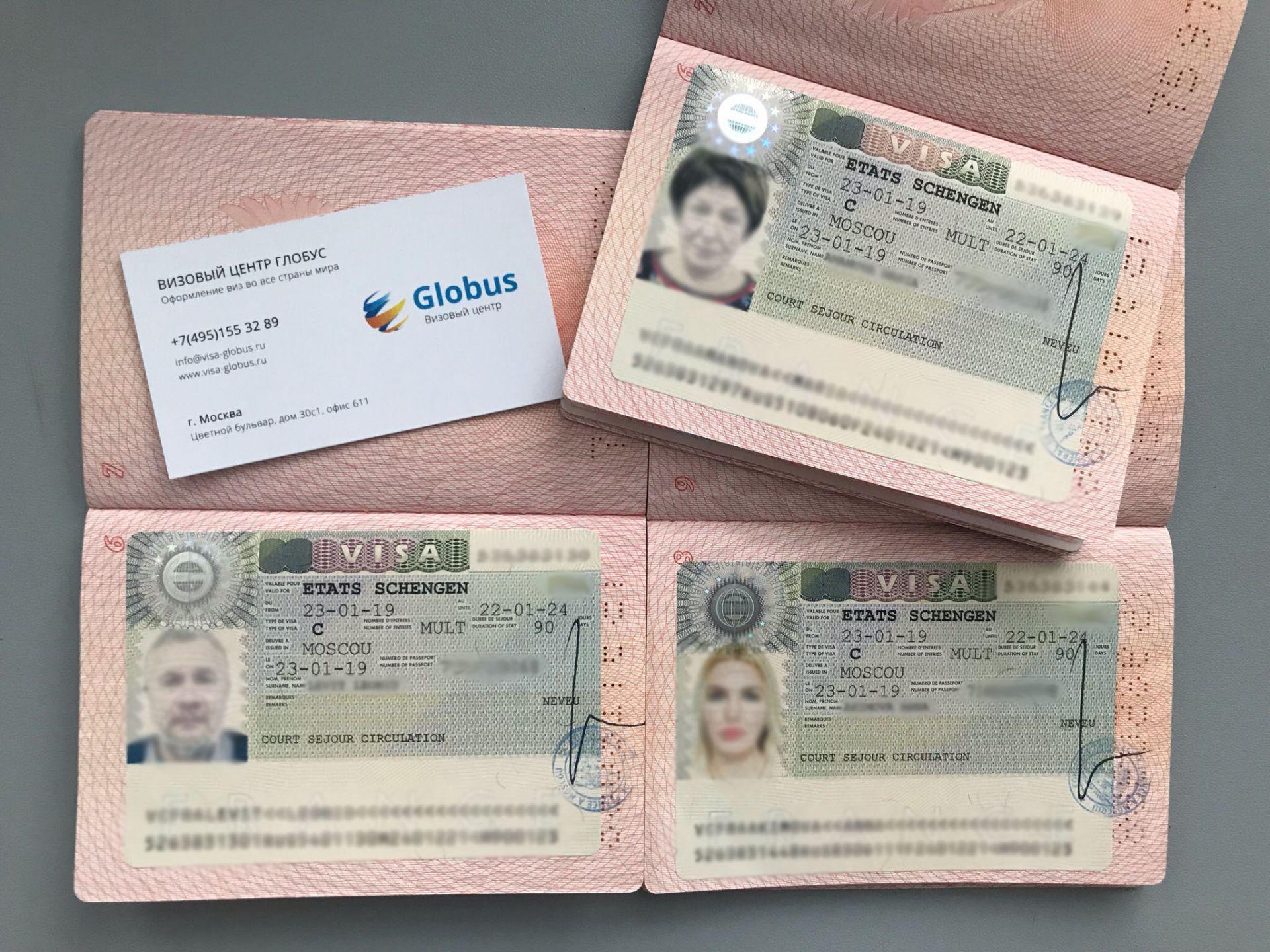 мультивиза Шенгена