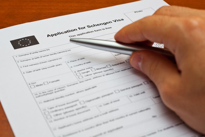 подача документов для шенгена