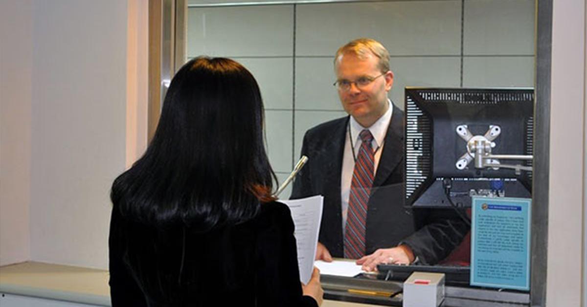 собеседование для гражданства в США