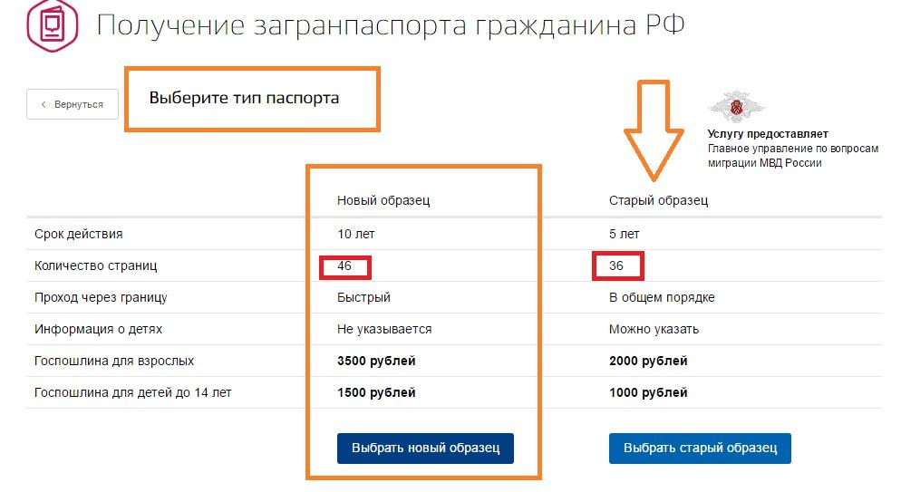 заявление на загранпаспорт онлайн через госуслуги