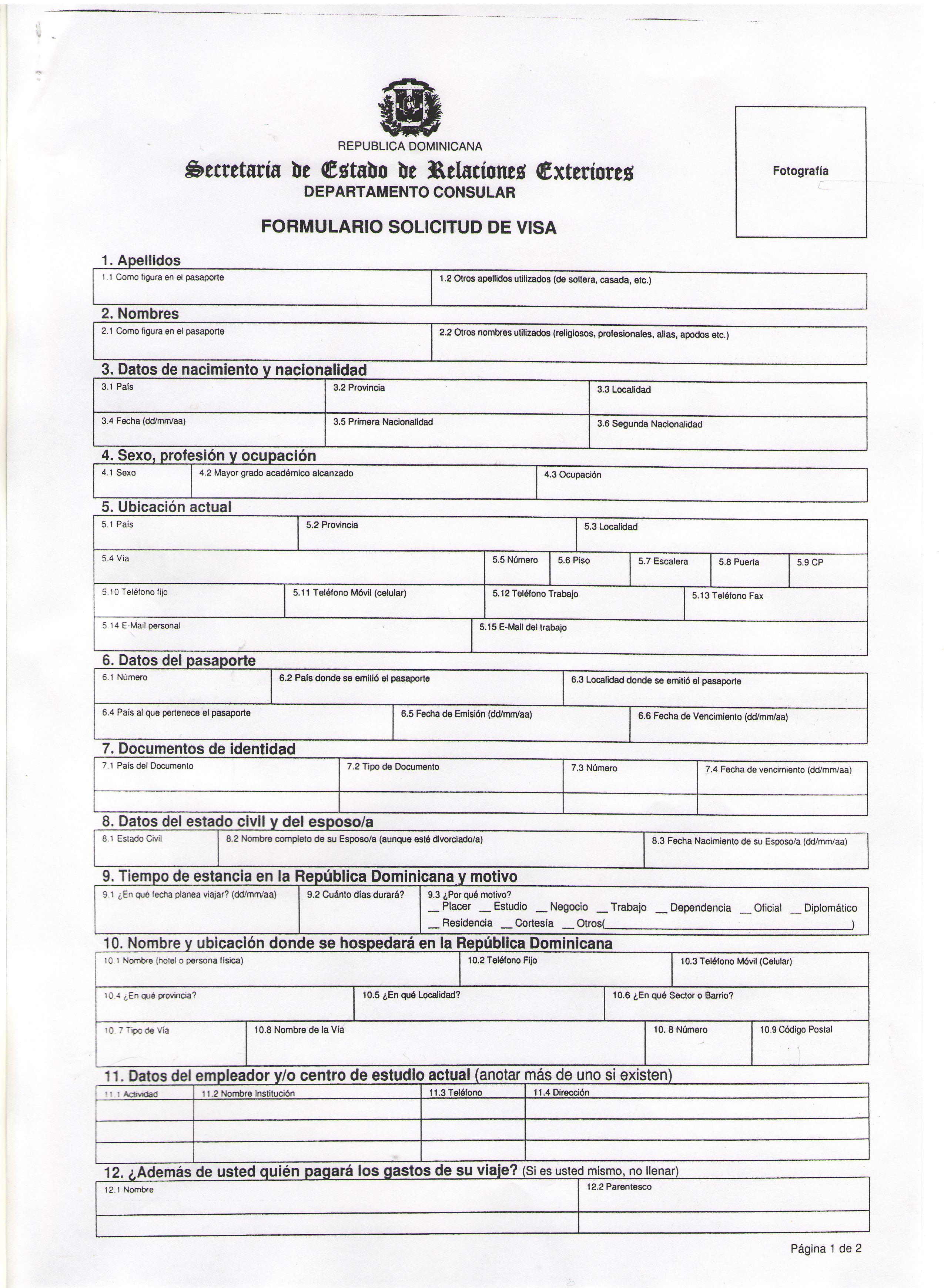 заявление на национальную визу в германию